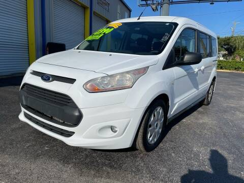 2014 Ford Transit Connect Wagon for sale at RoMicco Cars and Trucks in Tampa FL