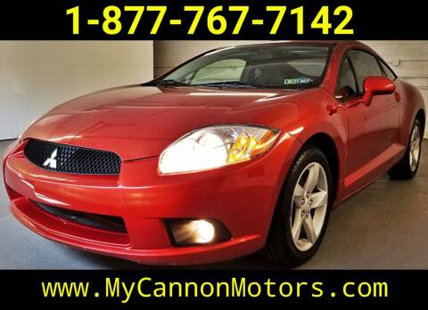 2009 Mitsubishi Eclipse for sale at Cannon Motors in Silverdale PA