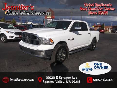 2015 RAM Ram Pickup 1500 for sale at Jennifer's Auto Sales in Spokane Valley WA