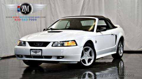 1999 Ford Mustang for sale at ZONE MOTORS in Addison IL
