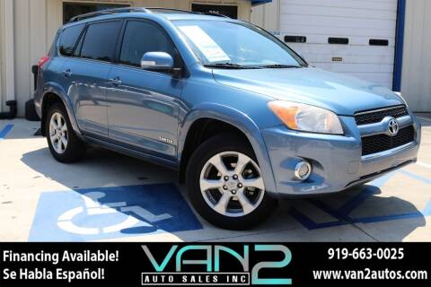 2012 Toyota RAV4 for sale at Van 2 Auto Sales Inc in Siler City NC