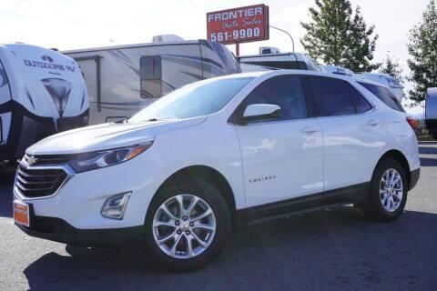 2018 Chevrolet Equinox for sale at Frontier Auto & RV Sales in Anchorage AK