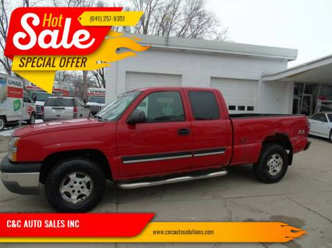 2003 Chevrolet Silverado 1500 for sale at C&C AUTO SALES INC in Charles City IA