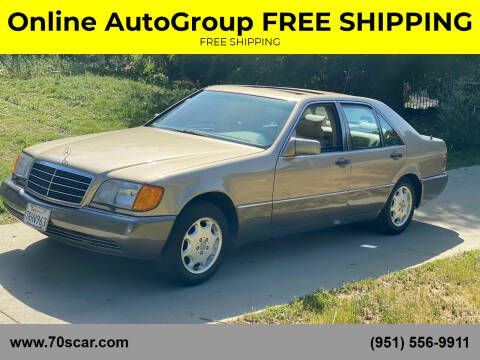 1992 Mercedes-Benz 300-Class for sale at Online AutoGroup FREE SHIPPING in Riverside CA