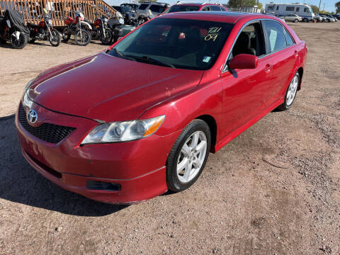 2009 Toyota Camry for sale at PYRAMID MOTORS - Fountain Lot in Fountain CO