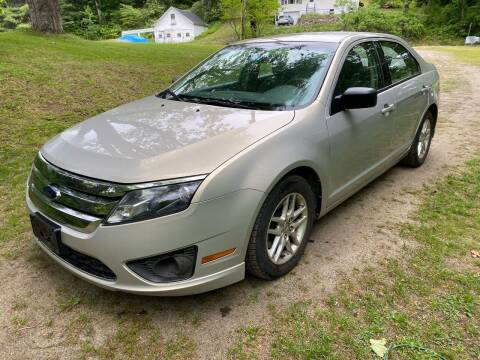 2010 Ford Fusion for sale at Olney Auto Sales in Springfield VT
