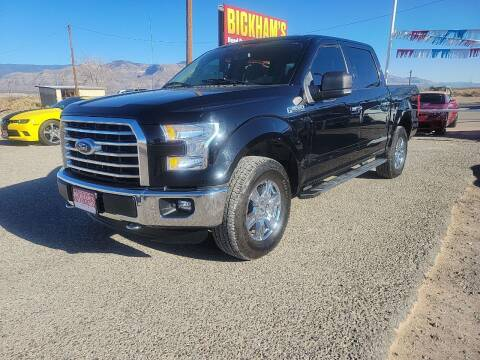 2016 Ford F-150 for sale at Bickham Used Cars in Alamogordo NM