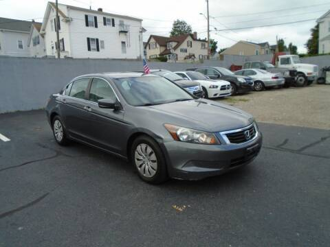 2009 Honda Accord for sale at Gemini Auto Sales in Providence RI