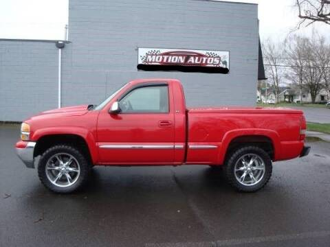 2002 GMC Sierra 1500 for sale at Motion Autos in Longview WA