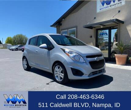 2015 Chevrolet Spark for sale at Western Mountain Bus & Auto Sales in Nampa ID