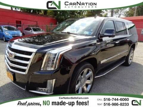 2017 Cadillac Escalade ESV for sale at CarNation AUTOBUYERS Inc. in Rockville Centre NY