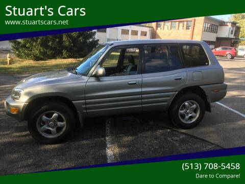1999 Toyota RAV4 for sale at Stuart's Cars in Cincinnati OH