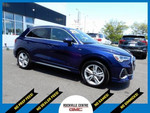 2021 Audi Q3 for sale at Rockville Centre GMC in Rockville Centre NY