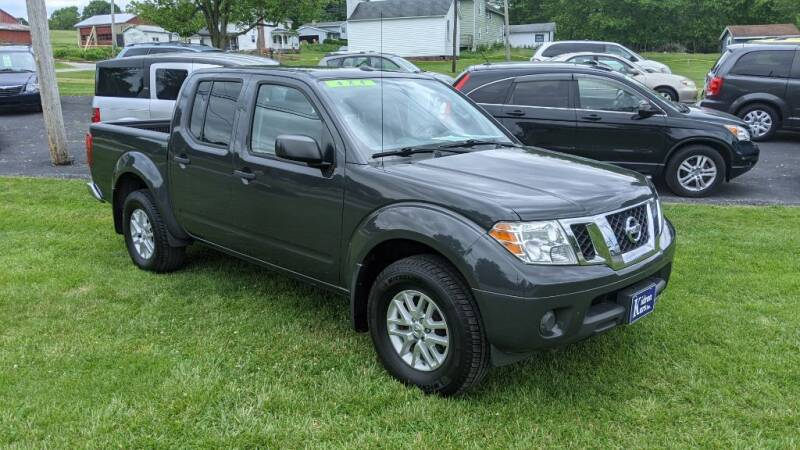 2014 Nissan Frontier for sale at Kidron Kars INC in Orrville OH
