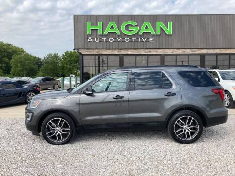 2016 Ford Explorer for sale at Hagan Automotive in Chatham IL