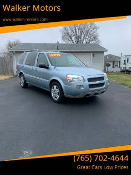 2007 Chevrolet Uplander for sale at Walker Motors in Muncie IN