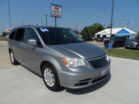 2014 Chrysler Town and Country for sale at America Auto Inc in South Sioux City NE