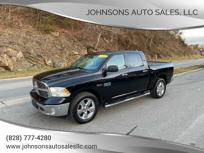 2015 RAM Ram Pickup 1500 for sale at Johnsons Auto Sales, LLC in Marshall NC