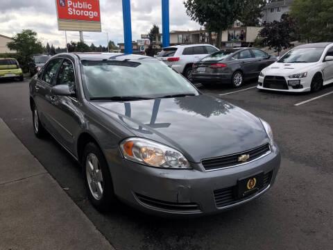 2008 Chevrolet Impala for sale at Bayview Motor Club, LLC in Seatac WA