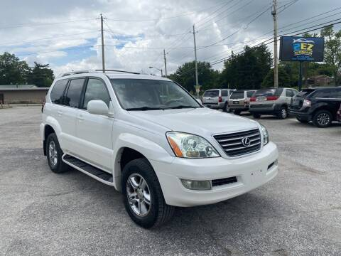 2007 Lexus GX 470 for sale at 2EZ Auto Sales in Indianapolis IN