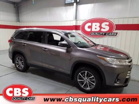 2019 Toyota Highlander for sale at CBS Quality Cars in Durham NC