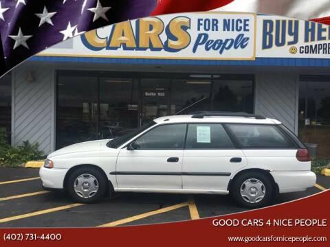 1999 Subaru Legacy for sale at Good Cars 4 Nice People in Omaha NE