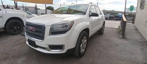 2014 GMC Acadia for sale at AUTOTEX FINANCIAL in San Antonio TX