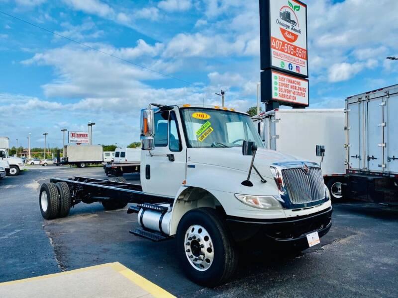 2013 International DuraStar 4400 for sale at Orange Truck Sales in Orlando FL
