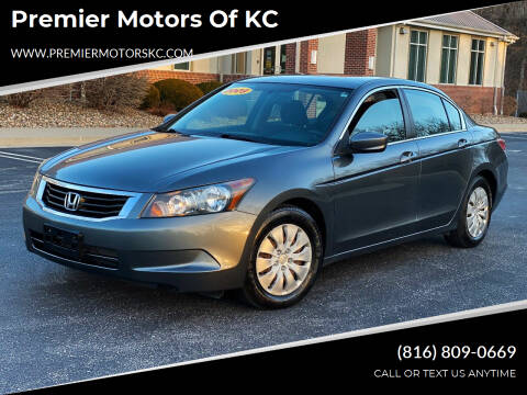2009 Honda Accord for sale at Premier Motors of KC in Kansas City MO