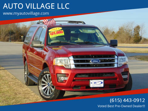 2015 Ford Expedition EL for sale at AUTO VILLAGE LLC in Lebanon TN