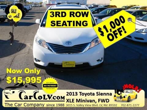 2013 Toyota Sienna for sale at The Car Company in Las Vegas NV