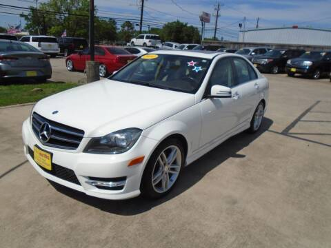 2014 Mercedes-Benz C-Class for sale at BAS MOTORS in Houston TX