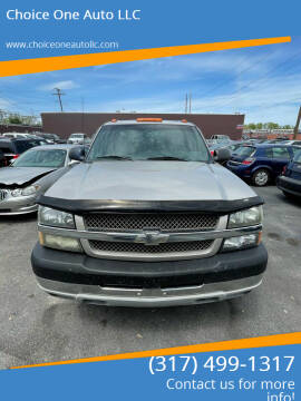 2004 Chevrolet Silverado 2500HD for sale at Choice One Auto LLC in Beech Grove IN