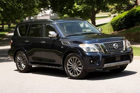 2020 Nissan Armada for sale at Econo Auto Sales Inc in Raleigh NC