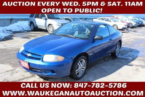 2005 Chevrolet Cavalier for sale at Waukegan Auto Auction in Waukegan IL