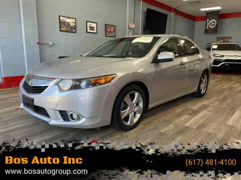 2012 Acura TSX for sale at Bos Auto Inc in Quincy MA