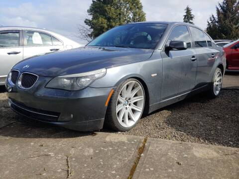 2010 BMW 5 Series for sale at M AND S CAR SALES LLC in Independence OR