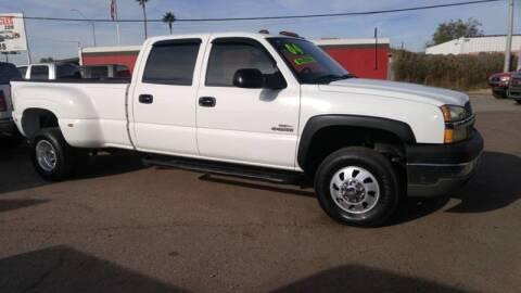2004 Chevrolet Silverado 3500 for sale at Advantage Motorsports Plus in Phoenix AZ