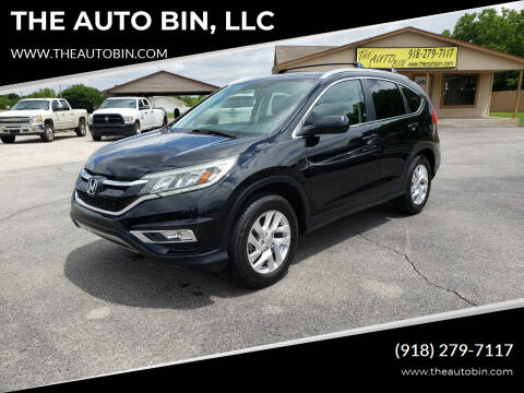 2015 Honda CR-V for sale at THE AUTO BIN, LLC in Broken Arrow OK