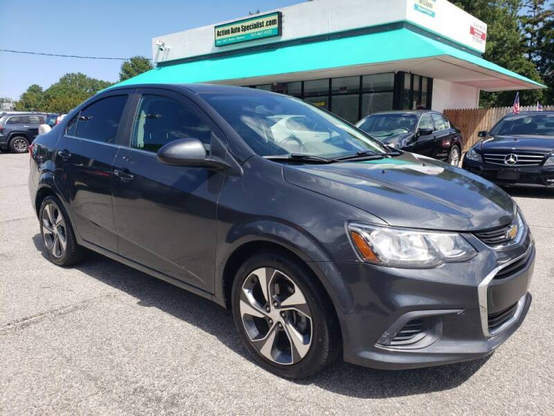2017 Chevrolet Sonic for sale at Action Auto Specialist in Norfolk VA