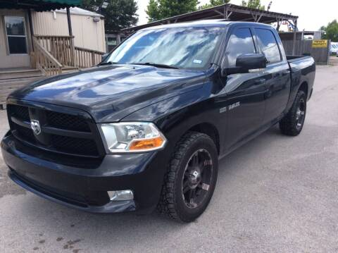 2010 Dodge Ram Pickup 1500 for sale at OASIS PARK & SELL in Spring TX