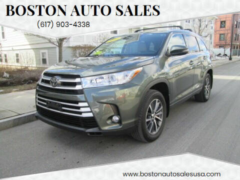 2017 Toyota Highlander for sale at Boston Auto Sales in Brighton MA
