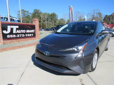 2017 Toyota Prius for sale at J T Auto Group in Sanford NC
