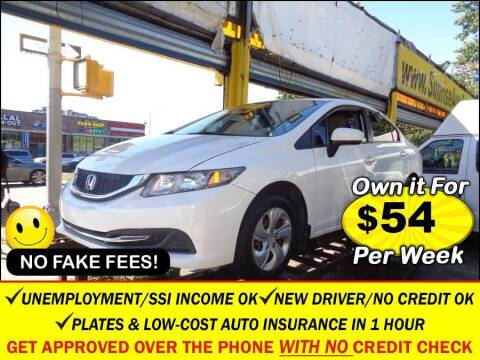 2015 Honda Civic for sale at AUTOFYND in Elmont NY