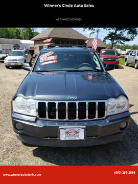 2007 Jeep Grand Cherokee for sale at Winner's Circle Auto Sales in Tilton NH