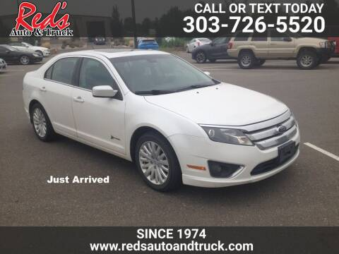 2012 Ford Fusion Hybrid for sale at Red's Auto and Truck in Longmont CO