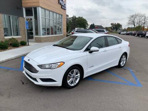 2018 Ford Fusion Hybrid for sale at PRINCE MOTORS in Hudsonville MI