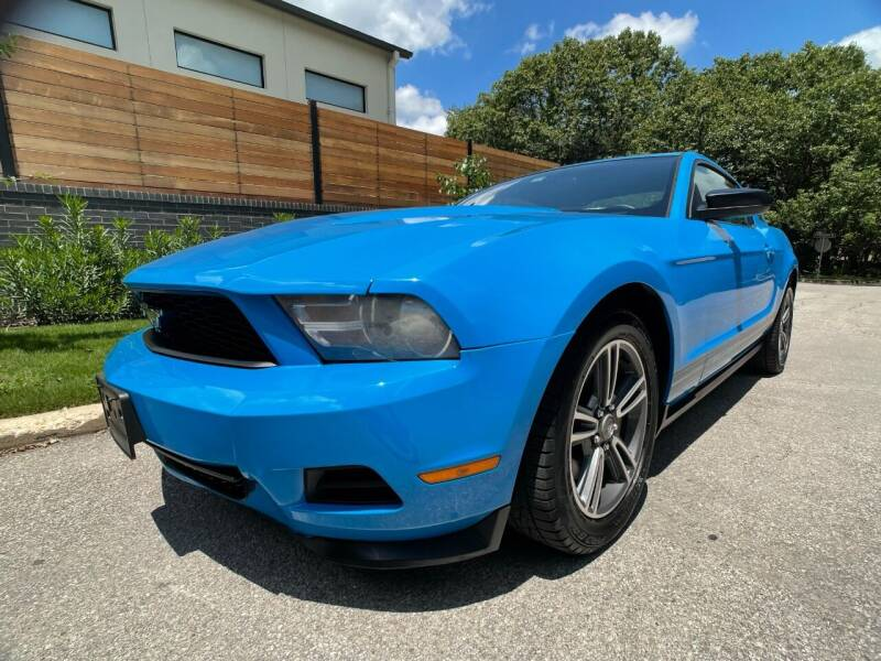 2012 Ford Mustang for sale at Carz Of Texas Auto Sales in San Antonio TX
