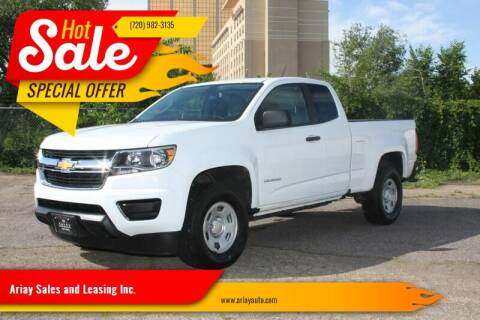 2016 Chevrolet Colorado for sale at Ariay Sales and Leasing Inc. - Pre Owned Storage Lot in Glendale CO