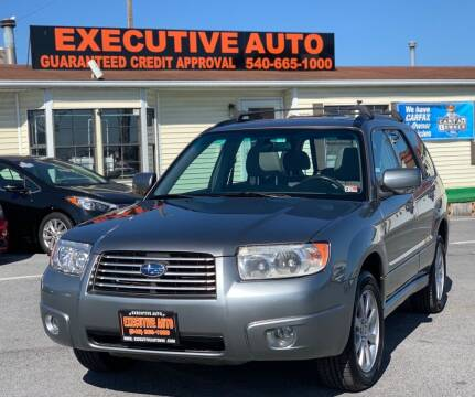2007 Subaru Forester for sale at Executive Auto in Winchester VA